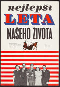 "Movie Posters:Drama, The Best Years of Our Lives (1960). First Release Czech Poster(11.25"" X 16""). Drama.. ..."