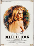 """Movie Posters:Foreign, Belle de Jour (Valoria, 1967). French Affiche (23.75"""" X 31.5"""") ReneFerracci Artwork. Foreign.. ..."""