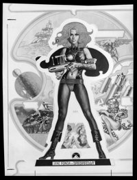 "Barbarella (Paramount, 1968). Very Fine/Near Mint. Safety Negative (5.5"" X 7.5"") Renato Fratini & Robi..."