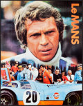 """Movie Posters:Sports, Le Mans (Cinema Center, 1971). Gulf Promotional Poster (17"""" X 22"""").Sports.. ..."""