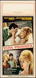 """Miscellaneous, A Very Private Affair (MGM, 1962). Italian Locandina (13"""" X 28"""").Foreign...."""
