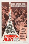 "Movie Posters:Action, Thunder Alley (American International, 1967). Folded, Very Fine-. One Sheet (27"" X 41""). Action.. ..."