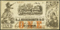Obsoletes By State:Louisiana, New Orleans, LA- D.J. Hockersmith & Co. / Southern Mills $1 ND (1861-62). ...