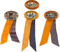 Football Collectibles:Others, 1928-30 University of Illinois Homecoming and Souvenir Pinback Buttons Lot of 4....
