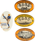 Football Collectibles:Others, 1924-27 University of Illinois Homecoming Pinback Buttons Lot of 4....