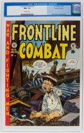 Golden Age (1938-1955):War, Frontline Combat #10 Gaines File Pedigree 6/9 (EC, 1953) CGC NM+ 9.6 Off-white pages....