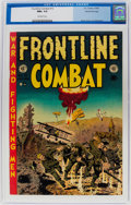 Golden Age (1938-1955):War, Frontline Combat #13 Gaines File Pedigree (EC, 1953) CGC NM+ 9.6White pages....