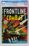 Golden Age (1938-1955):War, Frontline Combat #2 Gaines File Pedigree (EC, 1951) CGC NM+ 9.6Off-white to white pages....