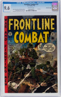 Golden Age (1938-1955):War, Frontline Combat #15 Gaines File Pedigree (EC, 1954) CGC NM+ 9.6 Off-white pages....