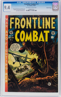 Frontline Combat #11 Gaines File Pedigree (EC, 1953) CGC NM 9.4 Off-white to white pages