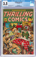 Golden Age (1938-1955):Superhero, Thrilling Comics #41 (Better Publications, 1944) CGC VG- 3.5 Cream to off-white pages....