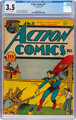 Action Comics #31 (DC, 1940) CGC VG- 3.5 Cream to off-white pages