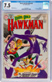 The Brave and the Bold #36 Hawkman (DC, 1961) CGC VF- 7.5 Off-white to white pages