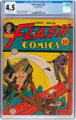 Flash Comics #35 (DC, 1942) CGC VG+ 4.5 Off-white pages