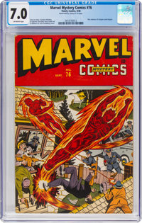 Marvel Mystery Comics #76 (Timely, 1946) CGC FN/VF 7.0 Off-white pages