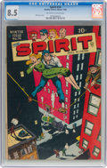 Golden Age (1938-1955):Crime, The Spirit #14 (Quality, 1948) CGC VF+ 8.5 Off-white to white pages....