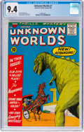 Silver Age (1956-1969):Science Fiction, Unknown Worlds #2 (ACG, 1960) CGC NM 9.4 Off-white to whitepages....