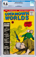 Silver Age (1956-1969):Science Fiction, Unknown Worlds #4 (ACG, 1960) CGC NM+ 9.6 Off-white to white pages....