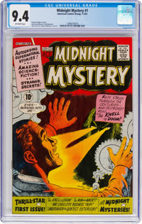 Midnight Mystery #1 (ACG, 1961) CGC NM 9.4 Off-white pages