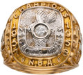 Basketball Collectibles:Others, 1957-58 St. Louis Hawks Championship Ring Presented to Gene Kirby from The Gene Kirby Collection. ...