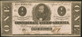 Confederate Notes, T62 $1 1863 PF-1 Cr. 474.. ...