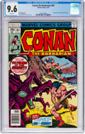 Bronze Age (1970-1979):Miscellaneous, Conan the Barbarian #87 (Marvel, 1978) CGC NM+ 9.6 White pages....