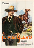 "Movie Posters:Western, The Shootist (Titanus, 1976). Italian 4 - Fogli (55"" X 78"")Averardo Ciriello Artwork. Western.. ..."