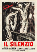 "Movie Posters:Foreign, The Silence (INDIEF,1964). Italian 4 - Fogli (55"" X 78""). Foreign.. ..."