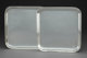 A Pair of Allan Adler Silver Square Trays, Los Angeles, California, mid-20th century Marks: ALLAN ADLER, STERLING 8-1...