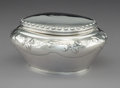 Silver Holloware, Continental:Holloware, A Dutch Silver Box Attributed to Pieter Zollner and William Beijoer, 19th century. Marks: (lion passant), (partially effaced...