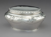 A Dutch Silver Box Attributed to Pieter Zollner and William Beijoer, 19th century Marks: (lion passant), (partiall