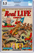 Golden Age (1938-1955):Non-Fiction, Real Life Comics #51 Mile High Pedigree (Nedor Publications, 1950) CGC FN- 5.5 Off-white to white pages....