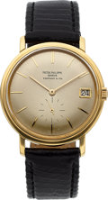Timepieces:Wristwatch, Patek Philippe, Very Fine Ref: 3445J, Retailed by Tiffany & Co, Circa 1965. ...
