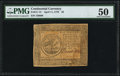Colonial Notes:Continental Congress Issues, Continental Currency April 11, 1778 $5 PMG About Uncirculated 50.....