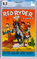 Golden Age (1938-1955):Western, Red Ryder Comics #11 Mile High Pedigree (Dell, 1943) CGC VF+ 8.5 Off-white to white pages....
