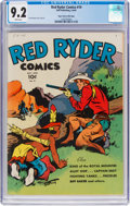 Golden Age (1938-1955):Western, Red Ryder Comics #19 Mile High Pedigree (Dell, 1944) CGC NM- 9.2 White pages....