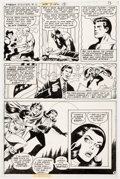 Original Comic Art:Panel Pages, Dick Ayers and Jack Abel Freedom Fighters #13 Story Page 9Original Art (DC, 1978)....