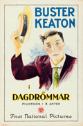 "Movie Posters:Comedy, Day Dreams (First National, 1922). Swedish One Sheet (27"" X 41"")....."