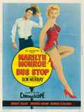 "Movie Posters:Drama, Bus Stop (20th Century Fox, 1956). Poster (30"" X 40"") Style Y.. ..."