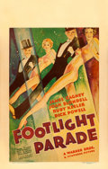"Movie Posters:Musical, Footlight Parade (Warner Brothers, 1933). Window Card (14"" X 22"").. ..."