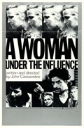 "Movie Posters:Drama, A Woman Under the Influence (Faces International, 1974). One Sheet(27"" X 41"").. ..."