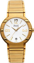 Timepieces:Wristwatch, Piaget, Polo Automatic, 18K Yellow Gold, Ref. GOA27700, Circa 2005. ...