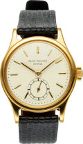 Timepieces:Wristwatch, Patek Philippe, Rare Ref: 2451J, Manual Wind, Circa 1952. ...