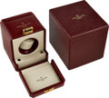 Timepieces:Wristwatch, Patek Philippe Leather and Brass Single Winder Box For Automatic Wristwatches. ...