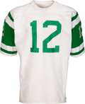 Football Collectibles:Uniforms, Early 1970's Joe Namath Game Worn New York Jets Jersey....
