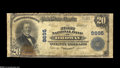 National Bank Notes:Colorado, Ordway, CO - $20 1902 Plain Back Fr. 652 The First NB Ch. # 8695The census had been stalled on this bank at only 2 Lar...