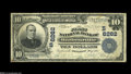 National Bank Notes:Kentucky, Barbourville, KY - $10 1902 Plain Back Fr. 624 The First NB Ch. #(S)6262 A very tough note in large size, with this ex...