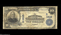 National Bank Notes:Kentucky, Henderson, KY - $10 1902 Plain Back Fr. 625 The Henderson NB Ch.#(S)1615 A Very Good note from the only issuer of...