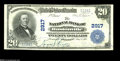 National Bank Notes:Kentucky, Hustonville, KY - $20 1902 Plain Back Fr. 650 The NB of HustonvilleCh. # 2917 This is one of only three $20 Plain Back...