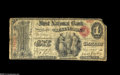 National Bank Notes:Kentucky, Lexington, KY - $1 Original Fr. 380 The First NB Ch. # 760 Thispiece will win no awards for grade, with one corner mis...
